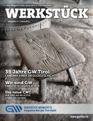 Firmenzeitung Werkstück 2015