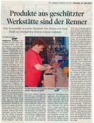 Produkte aus der GW Tirol sind der Renner
