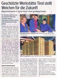 GW Tirol stellt Weichen für die Zukunft