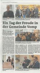 Ein Tag der Freude - Bezirksblattausgabe Dezember 2017